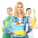 maid spotless house cleaning team