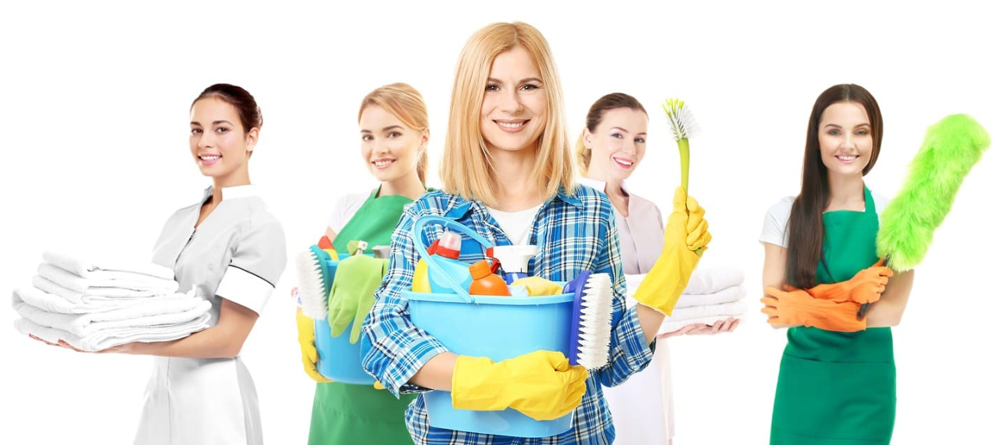 photo of our professional house cleaning maids