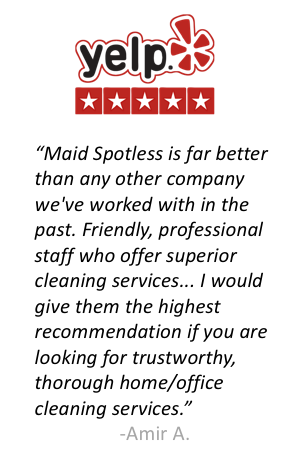 Maid Spotless Yelp Review